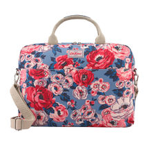 [Cath Kidston正規品] LAPTOP BAG WORTH BUNCH SLATE BLUE