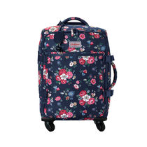 Cath Kidston(キャスキッドソン) バッグ・スーツケース [Cath Kidston正規品] FOUR WHEEL CABIN BAG FOREST BUNCH NAVY