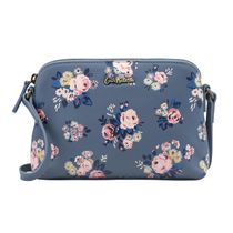 [Cath Kidston正規品] PRINTED SLIM LEATHER CROSS BODY