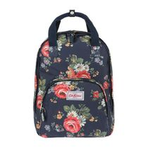 [Cath Kidston正規品] MULTI POCKET BACKPACK KENTISH ROSE NAVY