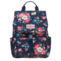[Cath Kidston正規品] BUCKLE BACKPACK FOREST BUNCH NAVY