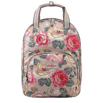 [Cath Kidston正規品] MULTI POCKET BACKPACK FOREST ROSE TAUPE