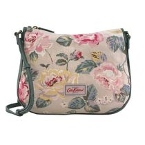 [Cath Kidston正規品] CANVAS & LEATHER CROSS BODY