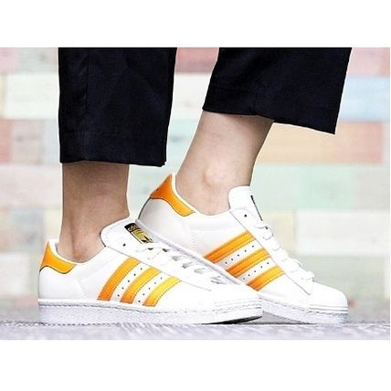adidas Originals Superstar 80s White Sneakers Caliroots