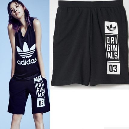adidas パンツ ADIDAS MEN'S ORIGINALS☆STREET GRAPHIC SHORTS AJ7634