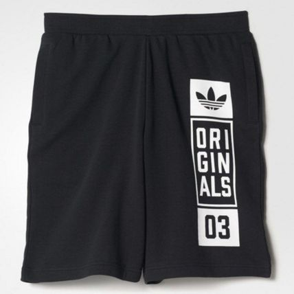 adidas パンツ ADIDAS MEN'S ORIGINALS☆STREET GRAPHIC SHORTS AJ7634(2)