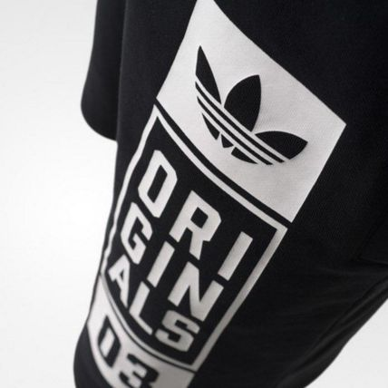 adidas パンツ ADIDAS MEN'S ORIGINALS☆STREET GRAPHIC SHORTS AJ7634(6)