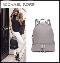 MICHAEL KORS ★RHEA SMALL LEATHER BACKPACK 国内発送!関税込