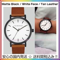 送料税込【The Horse】本革☆Matte Black/White Face/Tanレザー