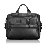 Tumi★96141 Alpha2 Expandable Organizer Laptop Leather Brief