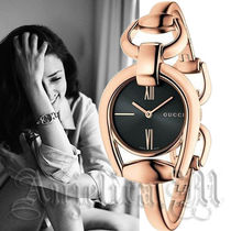 ★大人気★GUCCI  Horsebit Black Dial Ladies Watch YA139507