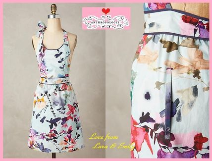 16 AW * * Anthro Wildflower Study Apron