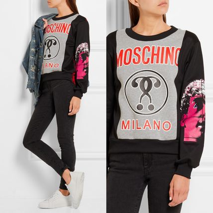 16-17AW Moschino プリントスウェット A170955284888