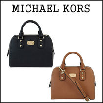 【即発★3-5日着】MICHAEL KORS★Saffiano Small Satchel ★2way