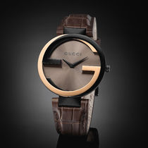 ★大人気★GUCCI Interlocking-G Black Dial Ladies  YA133304