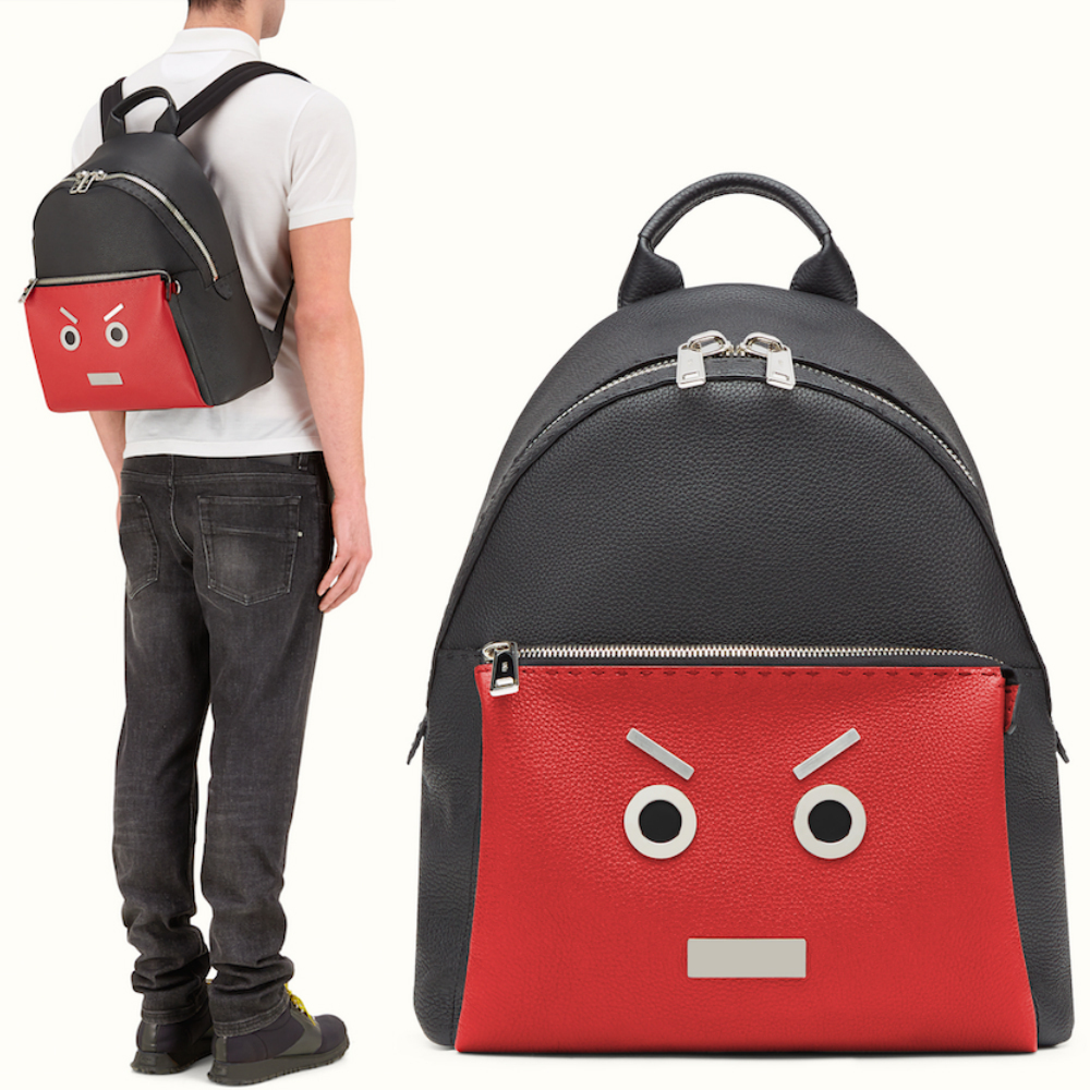 FE1088 'FENDI FACE' BACKPACK