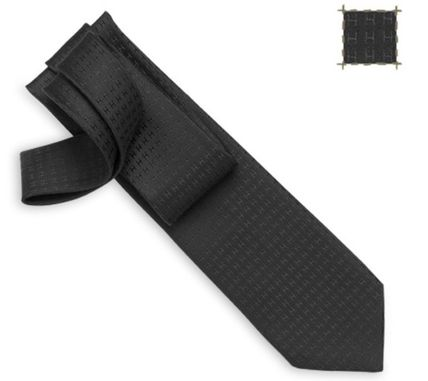 Hermes tie H woven gift to suit the Nice