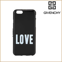 GIVENCHY(ジバンシィ) モバイルケース・アクセサリー 【新品】GIVENCHY  LOVE PRINTED RUBBER iPhone 6 ケース