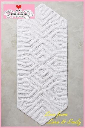 16 AW * Anthro Vane Bath Mat Long