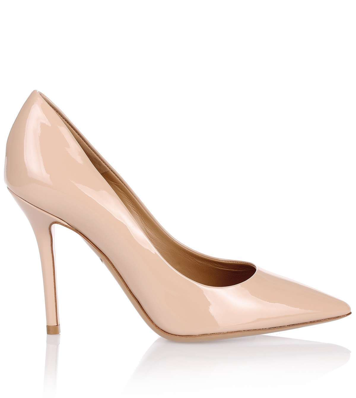 Susi 100 patent nude pump パテントレザーパンプス