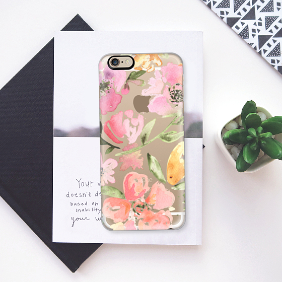 ☆Casetify☆ iPhoneクリアケース★Floral【送料込】
