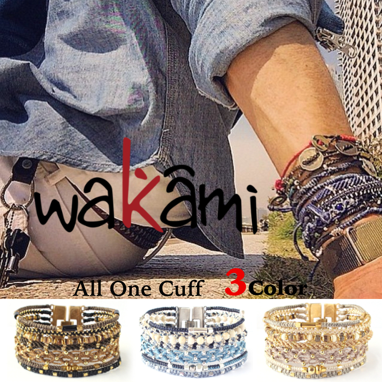 ロンハーマン★wakami bracelet earth All One Cuff