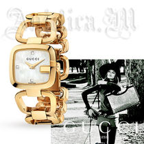 ★人気のゴールド★Gucci G-Gucci Ladies Watch YA125513