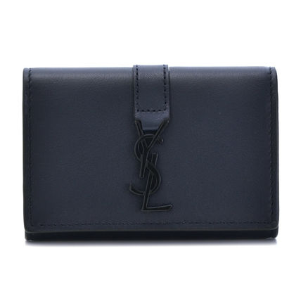 Saint Laurent key case 438963 BJ54U4164 color:MARINE+NERO