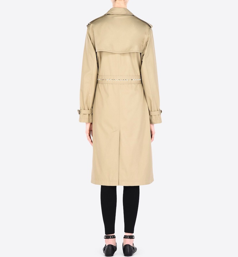 """16-17AW V415 """"ROCKSTUD UNTITLED"""" TRENCH COAT"""