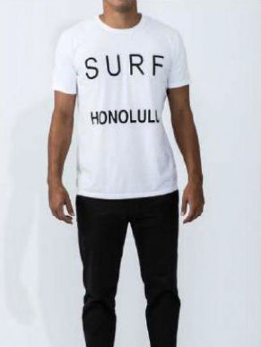 Surf Honolulu white