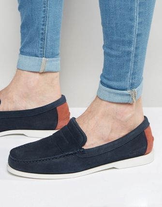 LACOSTE★人気★正規品Navire Suede Penny Loafers★送料無料★
