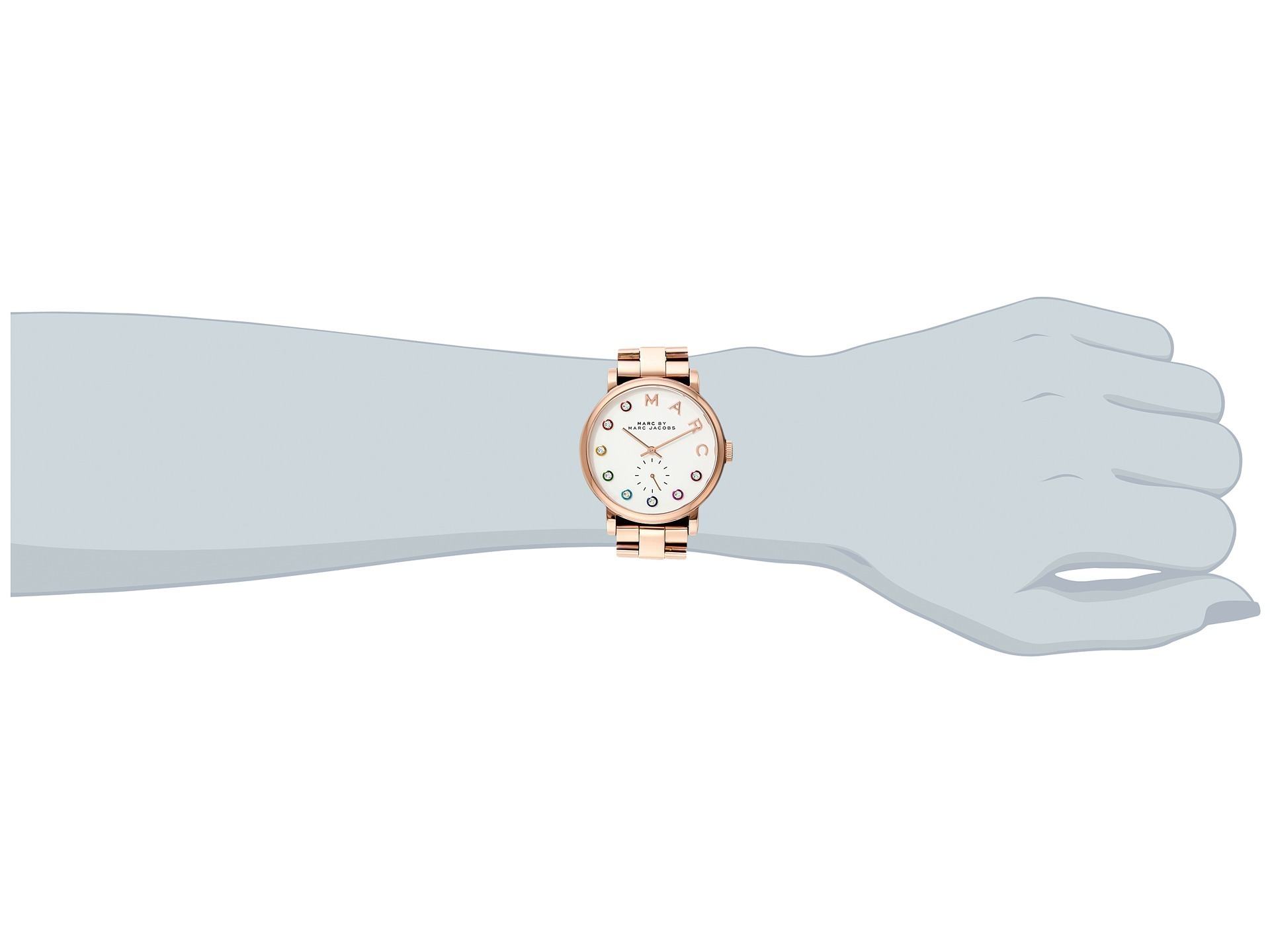 Marc by Marc Jacobs 正規品MBM3441 - Baker 送料無料