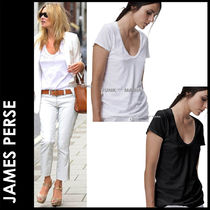 JAMES PERSE(ジェームスパース) Tシャツ・カットソー ★3-7日着/追跡付【即日発送・JAMES PERSE】RELAXED CASUAL U
