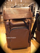 【Coach】新作!背面ムレ防止HENRY BACKPACK LEATHER F72311☆茶
