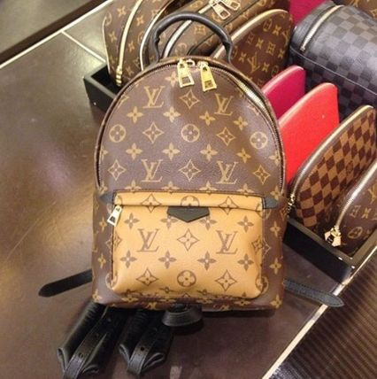 """Louis Vuitton バックパック・リュック 2016""""New Color入荷★LOUIS VUITTON★Palm Sprig BackPack mini"""