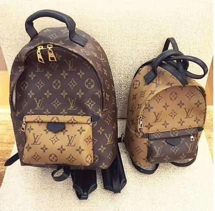 """Louis Vuitton バックパック・リュック 2016""""New Color入荷★LOUIS VUITTON★Palm Sprig BackPack mini(2)"""