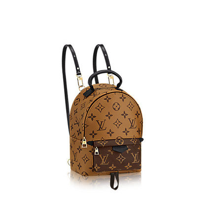 """Louis Vuitton バックパック・リュック 2016""""New Color入荷★LOUIS VUITTON★Palm Sprig BackPack mini(4)"""