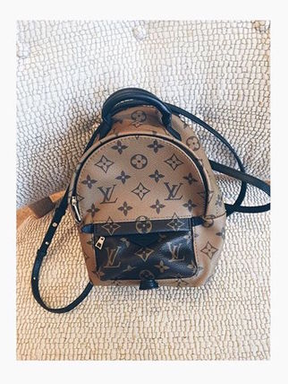 """Louis Vuitton バックパック・リュック 2016""""New Color入荷★LOUIS VUITTON★Palm Sprig BackPack mini(5)"""