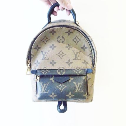 """Louis Vuitton バックパック・リュック 2016""""New Color入荷★LOUIS VUITTON★Palm Sprig BackPack mini(6)"""