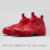 NIKE AIR FOAMPOSITE PRO RED OCTOBER 624041-603