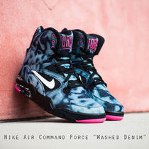Nike Air Command Force Denim 黒 青 ピンクデニム