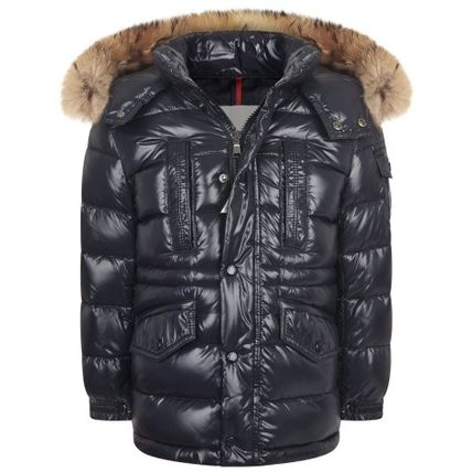 16-17AW大人も着れるMoncler RIVIERE ネイビー(-14y)