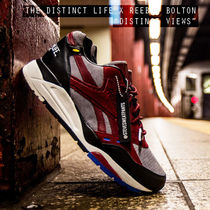 REEBOK X DISTINCT LIFE BOLTON 'DISTINCT VIEWS'バーガンディー