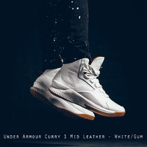 Under Armour Curry 1 Mid Leather Gum ホワイト 日本未入荷