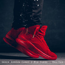 Under Armour Curry 1 Mid Suede スエード レッド 日本未入荷