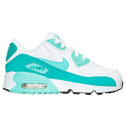 SS16 NIKE AIR MAX 90 PS TEAL WHITE 16.5-22cm KIDS 送料無料