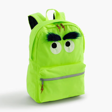 J.CREW Kids' Max the Monster furry バックパック
