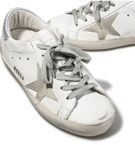 【関税負担】 GOLDEN GOOSE 16AW SUPERSTAR WHITE/SILVER