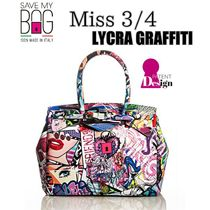 【国内発送】SAVE MY BAG MISS 3/4 LYCRA GRAFFITI★New♪♪