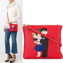 16-17AW DG634 'DG FAMILY' SHOULDER BAG